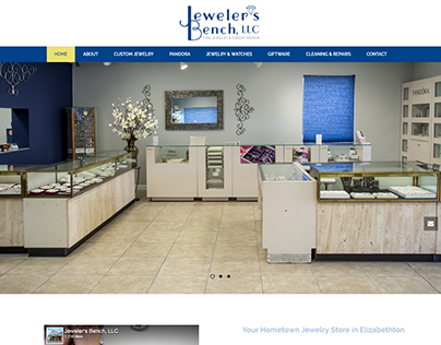The Jewelers Bench Website Redesign