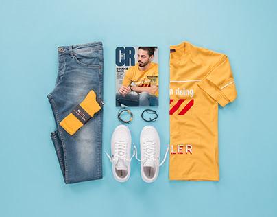 Renklerin Cazibesi / Street Style Erkek Kombin Önerisi