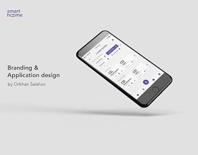Smart Home Mobile App & Branding