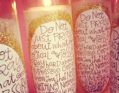 pray for the impossible prayer candles