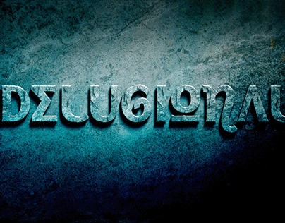Delugional -Typeface of a Lost Civilization