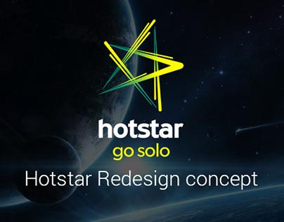 Hotstar Redesign Concept