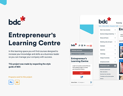 BDC - Entrepreneur's Learning Centre