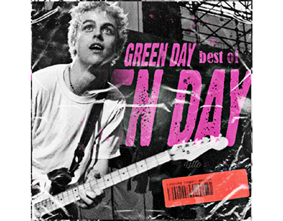 "Green Day ""Best Of"" Concept Art"