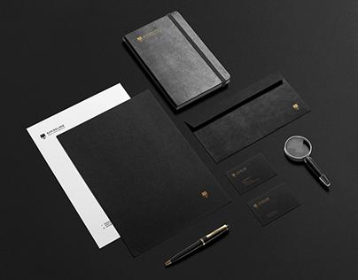 Sparkline Legal Partnership Visual Identity Design