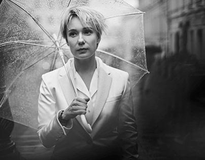 Chulpan Khamatova / Vogue