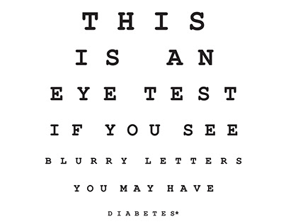 This Is An Eye Test (Awarded Work)