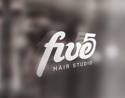 Five - hair studio logotype