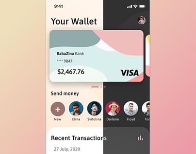 Dark/Light Theme For Wallet App