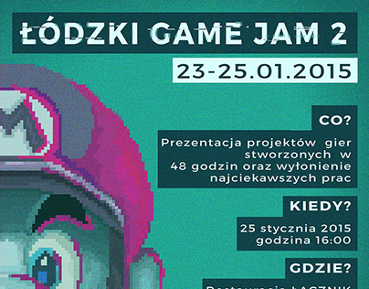 Poster for Lodz Game Jam 2015