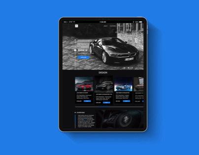 Landing page l BMW i8