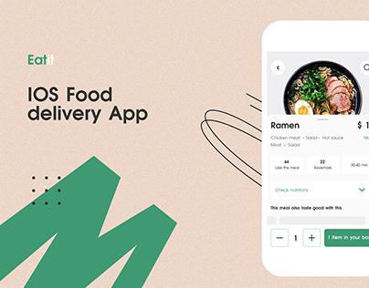 IOS Food Delivery App