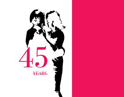 Alternative Film Poster Design - 45 YEARS