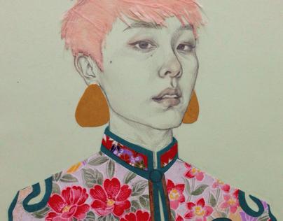 Paper Self - Jade & Turquoise