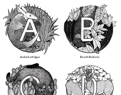 Fauna & Flora Alphabet