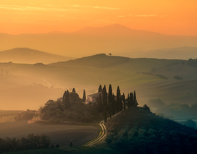 A Journey in Tuscany