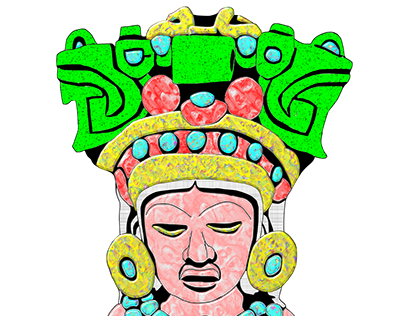 Siedzący Indianin / Sitting Indian / Mesoamerica