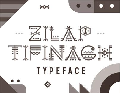 ZILAP TIFINAGH TYPEFACE