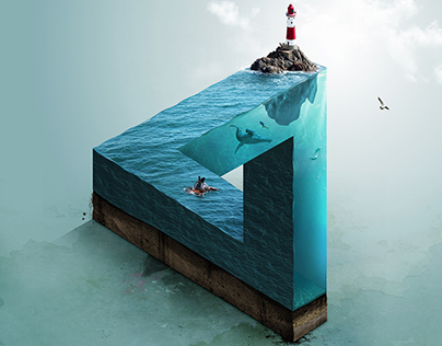 Impossible Sea - Adobe Photoshop CC 2016