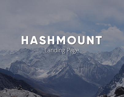 Landing Page for Hashmount