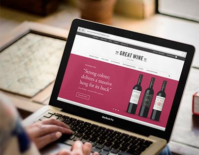 Great Wine responsive website