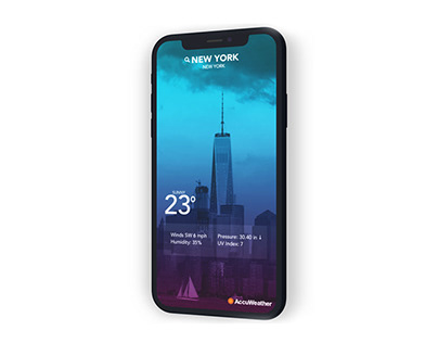Concept Color Mood Weather App