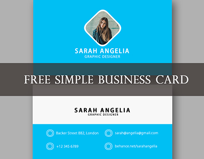 FREE Simple Business Card