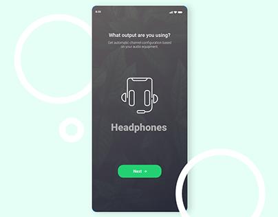 Music App - Initialization Screen