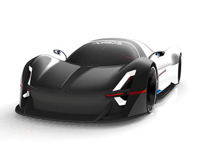 Porsche Fuel-Cell Vehicle Exterior Design