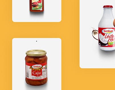 Site - Tambaú Alimentos