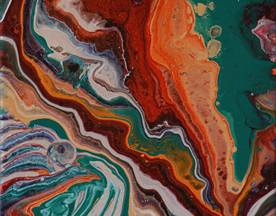 The colors of geodes