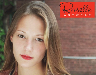 Roselle Artwear | Logo and collateral