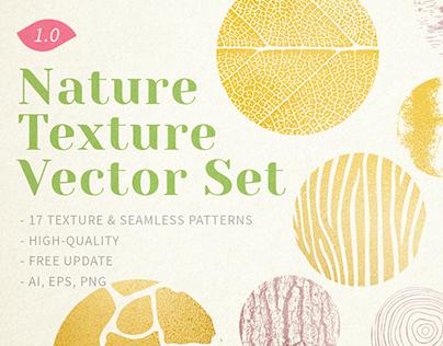 Nature Texture Vector Set [Download]
