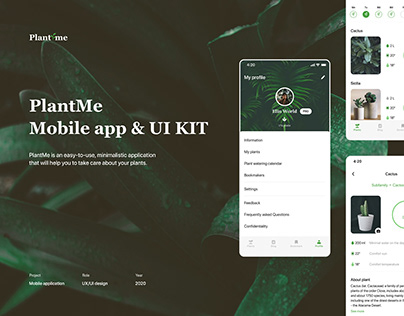 Mobile app - PlantMe