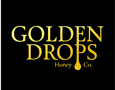 GOLDEN DROPS Pure Natural Honey