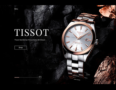 Luxury Watch E Commerce Website