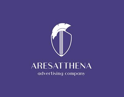 Aresatthena Logo Branding Design