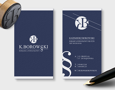 Tax advisor - logo design and business cards