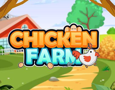 CHICKEN FARM App Game UI Design