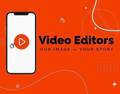 Video Editors Web Design