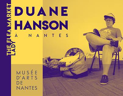 """BICHROMIE Duane Hanson """"Flee market lady"""" exhibition"""