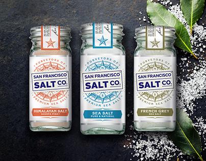 Purveyors of Sea Salt Packaging - San Francisco Salt Co