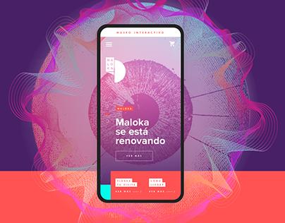 Maloka / Interactive Museum Web App