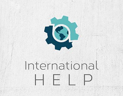 International HELP Logo & Web Design