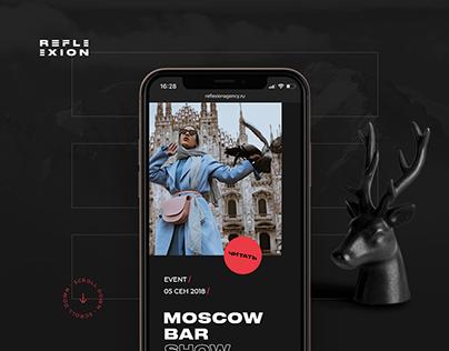 Reflexion agency - Identity and Web Design