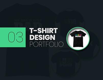 T-shirt Design Portfolio 03