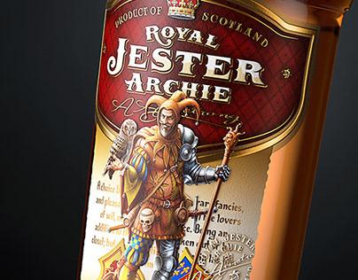 """Scotch whisky """"Royal Jester Archie"""""""