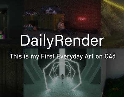 My First Render c4d