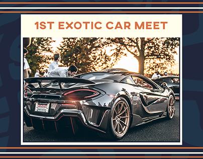 1st Exotic Car Meet
