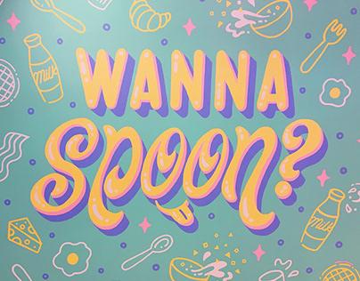 Wanna Spoon Mural